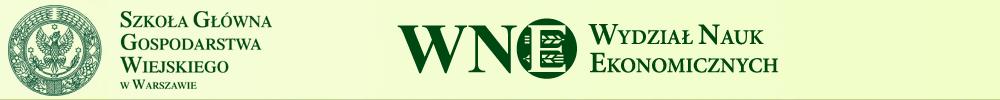 Student WNE SGGW – Wydział Nauk Ekonomicznych SGGW