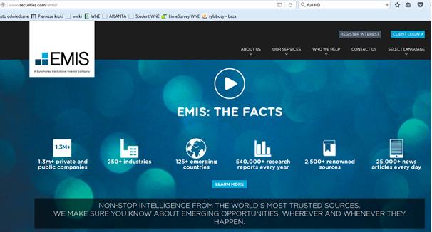 Strona EMIS